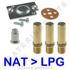GAS CONVERSION KIT IMPERIAL CIFS40 FRYER NAT TO LPG PILOT JETS ROBERTSHAW VALVE