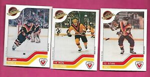 3-X-RARE-1983-84-VANCOUVER-CANUCKS-VACHON-FOOD-NRMT-MT-CARD-INV-C4676
