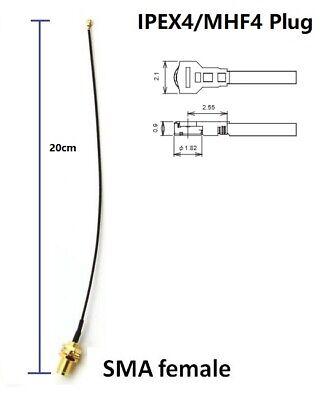 Configurable Antenna Set 1//3//8 dBi Antenna, 20cm IPEX4 Pigtail RF Adapter