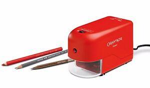 Caran d'Ache Elektrische Spitzmaschine Rot, 0477.070, NEU&OVP