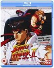 Street Fighter 2 The Animated Movie 3700091027364 With Takeshi Kusaka Blu-ray