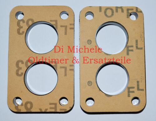 Hitzeschutz,32 DMTR DMTE Isolator INSULATOR PLATE DAT DATR Weber Vergaser