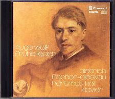 Dietrich Fischer-Dieskau Hugo Wolf Heine Eichendorff canzoni ritorno claves CD