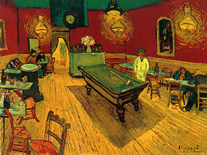 Image Is Loading Billiard Pool Table Game Bar By Painter Vincent