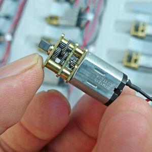 DC 3V-6V 5V 55RPM Mini N20 Gear Motor Slow Speed DIY Robot Car Electric Lock