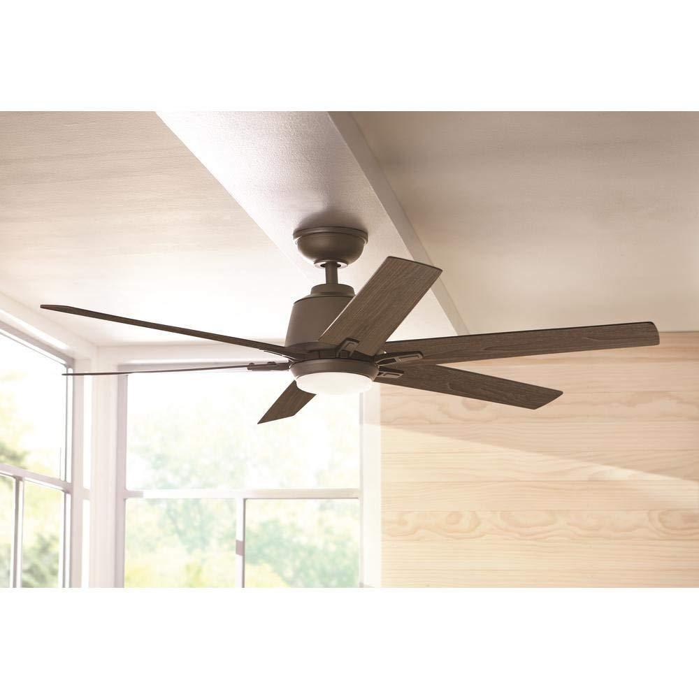Home Decorators Collection Kensgrove 54 Led Indoor Espresso Bronze Ceiling Fan For Sale Online Ebay