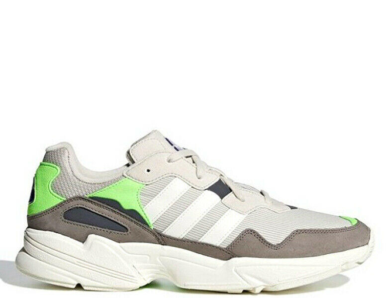 Adidas Originals Yung-96 - Men's Clear Brown Off White Solar Green F97182