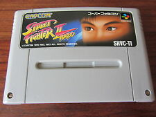 STREET FIGHTER II TURBO     - SHVC-TI     -- pour SUPER FAMICOM  / JAP.