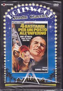 Dvd-4-BASTARDI-PER-UN-POSTO-ALL-039-INFERNO-con-Burt-Reynolds-nuovo-1969
