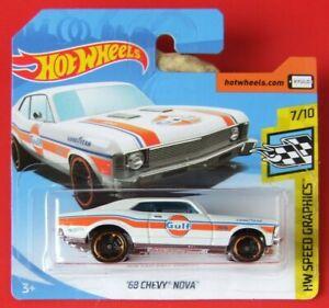 Hot-Wheels-2019-039-68-Chevy-Nova-67-250-neu-amp-ovp