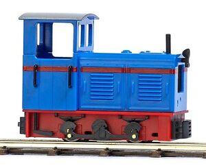 Busch-HOf-12122-Diesel-Lokomotive-LKM-Ns-2f-Blau-Rot-NEU-in-OVP
