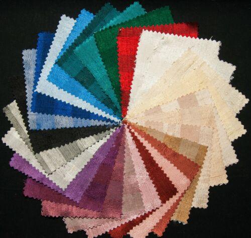 27-Piece Silk Dupioni Charm Pack Jacquard Stripe5/'/' Quilting Squares Irides