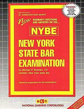 New York State Bar Examination (NYBE) by Rudman, Jack -ExLibrary