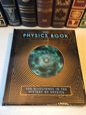The Physics Book: 250 Milestones in the History of Physics - leather-bound