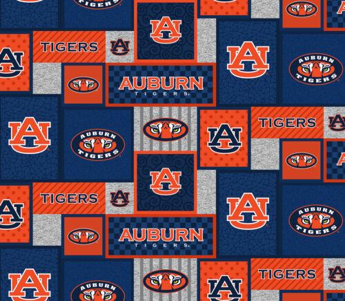 Auburn Fleece Fabric Geometric design by the yard