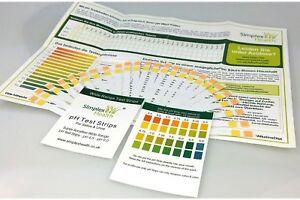 25 Stück SimplexHealth pH Teststreifen Urin & Speichel
