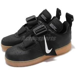 Details about Nike Air Force 1 Utility Black Gum AF1 Lifestyle Mens Shoes Sneakers AO1531 002