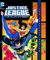 Justice League Unlimited Complete Series Sealed Blu-ray Mod