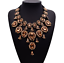 Ladies-Fashion-Crystal-Pendant-Choker-Chain-Statement-Chain-Bib-Necklace-Jewelry thumbnail 35