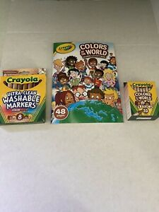 Crayola-Colors-of-the-World-Multicultural-32-Crayons-8-Markers-Activity-Book