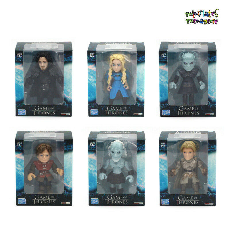 Loyal Subjects gioco of Thrones Wave 1  General Release Set of 6 cifras  ti aspetto