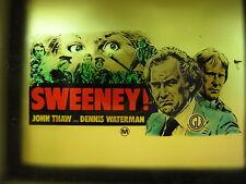 SWEENEY 1977 Rare cinema movie projector glass slide Dennis Waterman John Thaw
