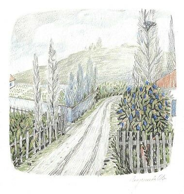 Color Pencil Drawing Village Landscape Ebay Upload your creations for people to see, favourite and share. color pencil drawing village landscape ebay