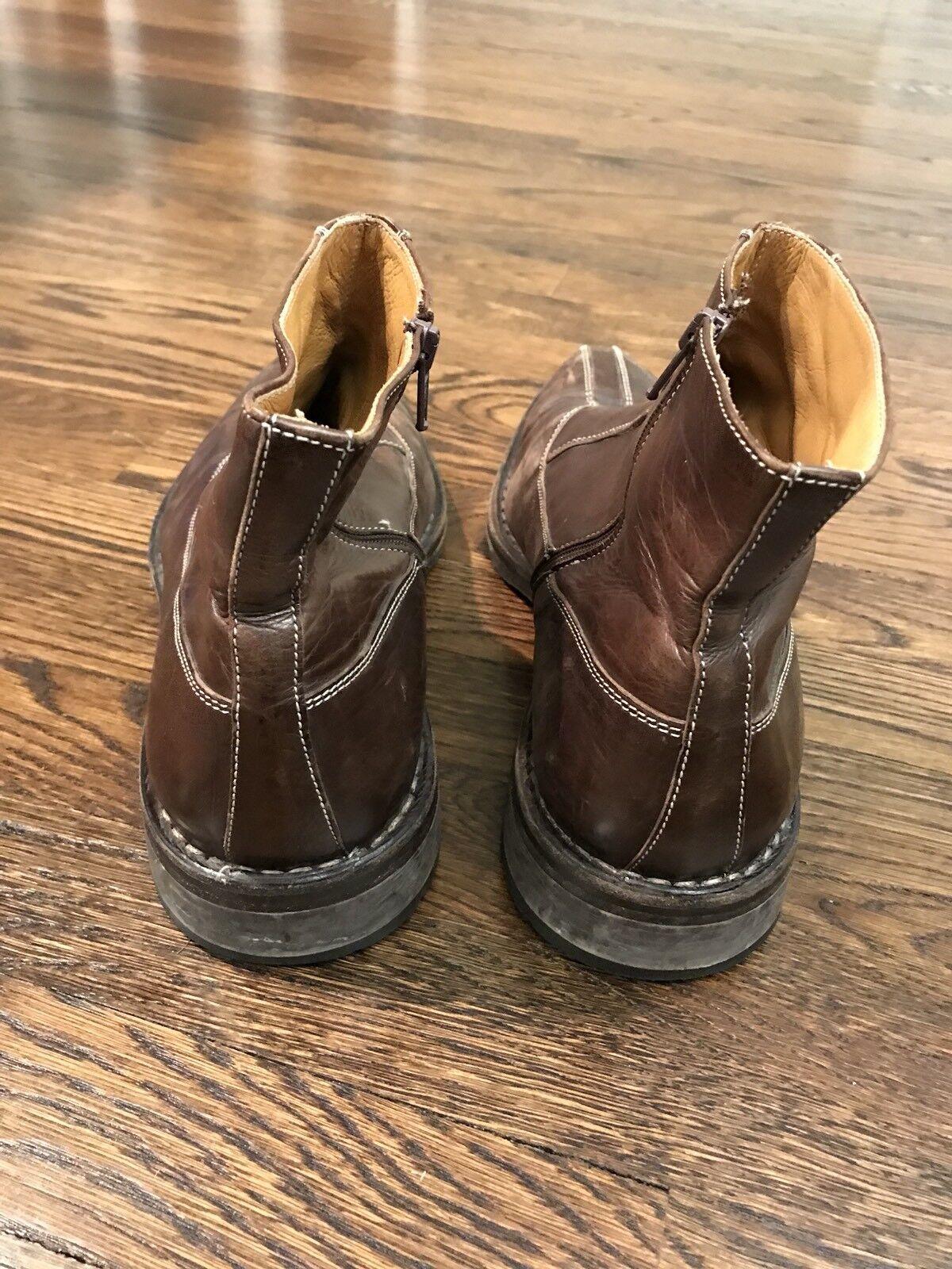 detailed look 60e6f 968a6 Francesco Benigno Brown Brown Benigno Pelle Shoes boots Sz ...