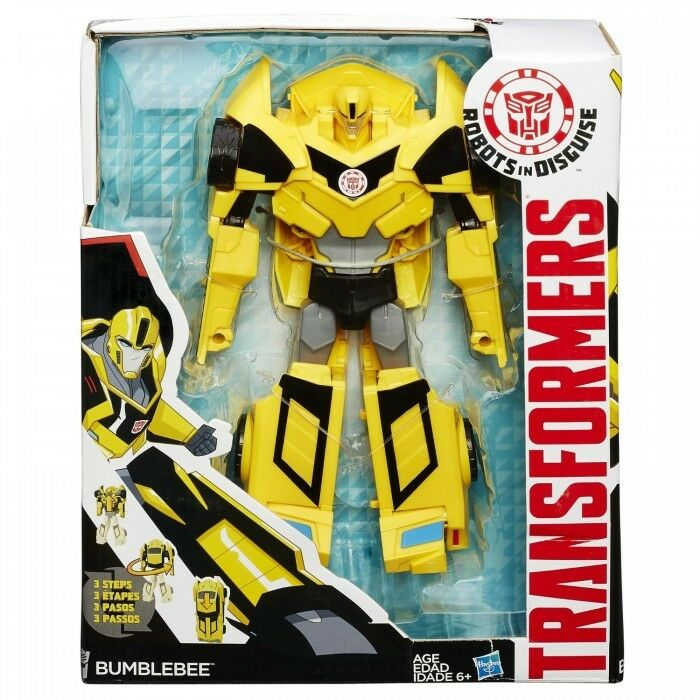 Transformers Robots In Disguise 3-Step modulatori Bumblebee Figura