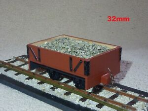 """""""REAL WOODEN PLANKED"""" SM32, 32MM, 16MM/FOOT, 1/19TH SCALE, NARROW GAUGE, RTR"""