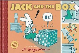 "ART SPIEGELMAN ""JACK AND THE BOX"" TOON BOOK - FIRST COMIC FOR BRAND-NEW READERS!"