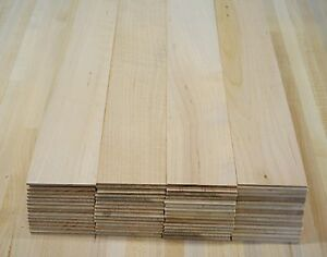 4 pieces 1 8 maple thin boards lumber wood crafts scroll