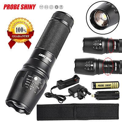 X800 Flashlight 5000LM  T6 LED Flashlight Torch Lamp G700 Light 18650 Set US