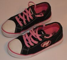 Heeleys X2 Pink White Black Roller Shoes Skates Wheels Trainers Size UK 3 EUR 35