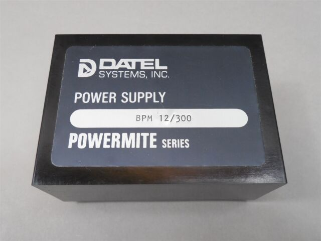 Datel Bpm12 300 Supply Mite Series New