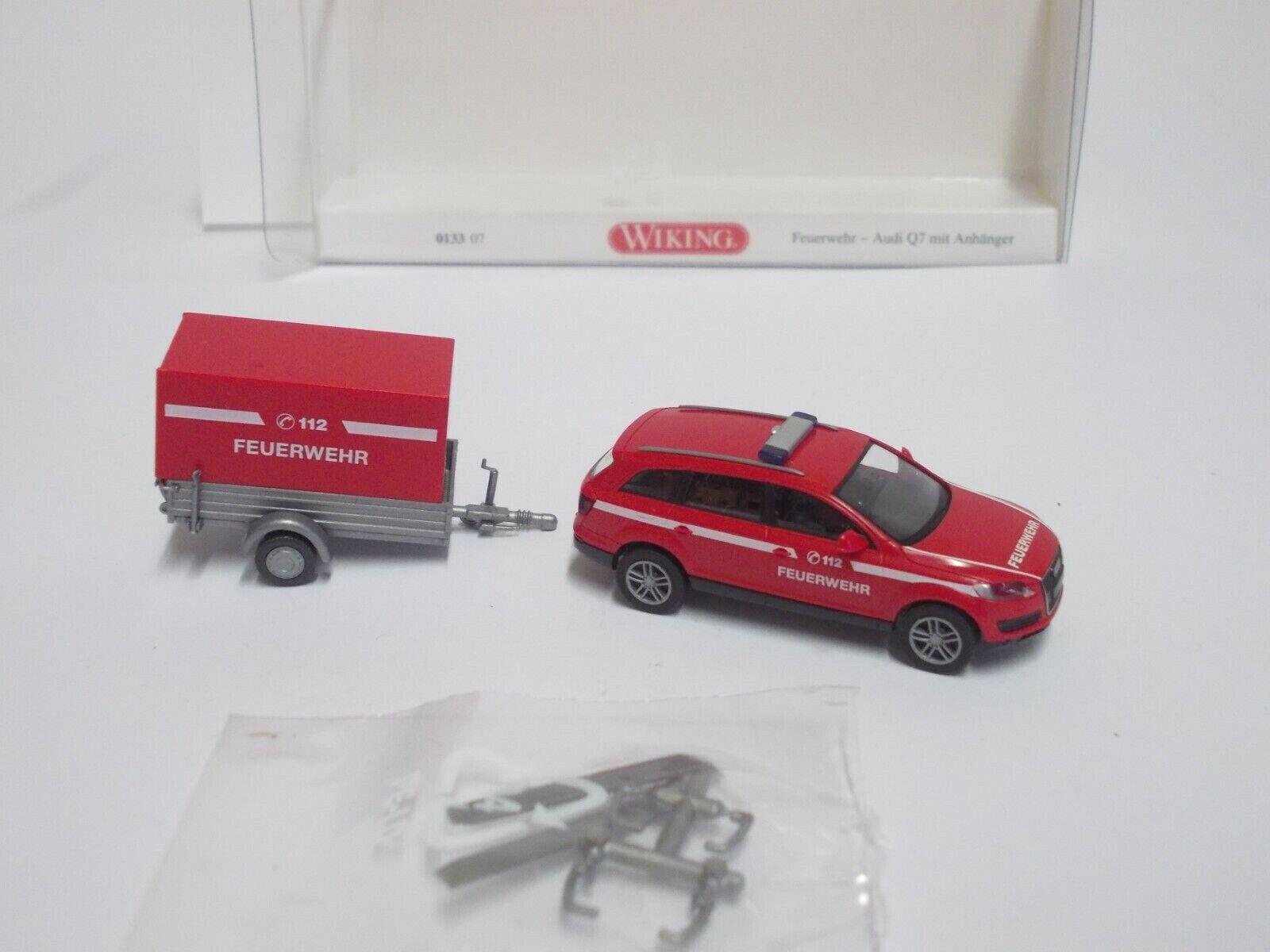 Wiking 1//87 Audi Q7 schwarz OVP #4418