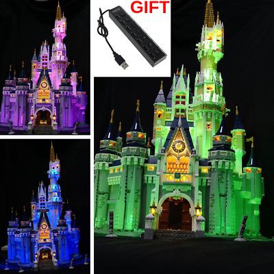 LIGHT MY BRICKS LED Light kit for  Disney Castle 71040 CASTLE NOT included