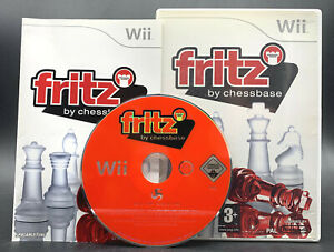 Nintendo-Wii-GAME-034-FRITZ-by-Chessbase-Chess-Trainer-034-Complete