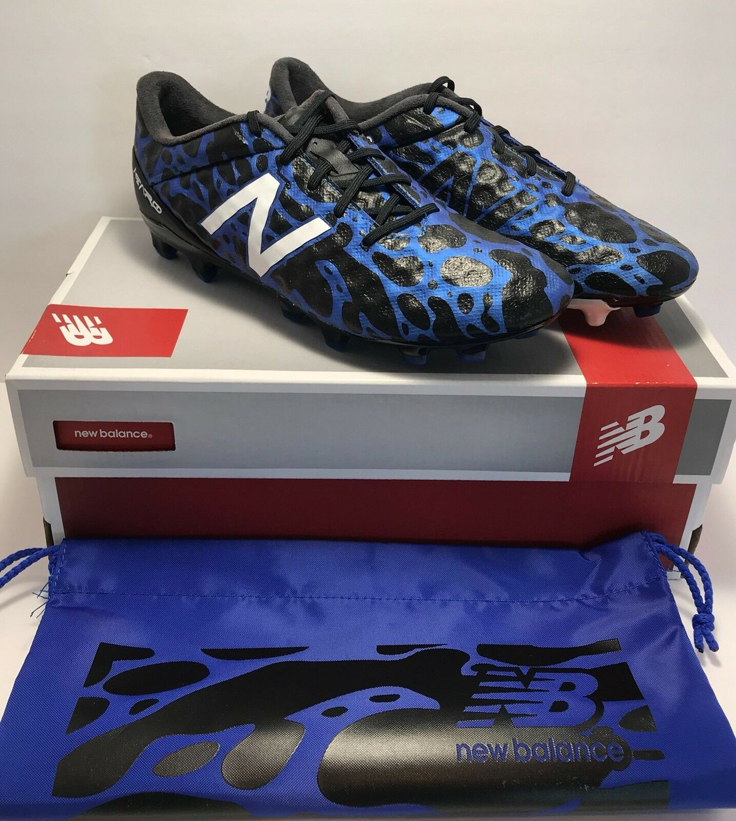 New Balance Mens Size 6.5 Visaro Signal Limited Edition Soccer Cleats Boots