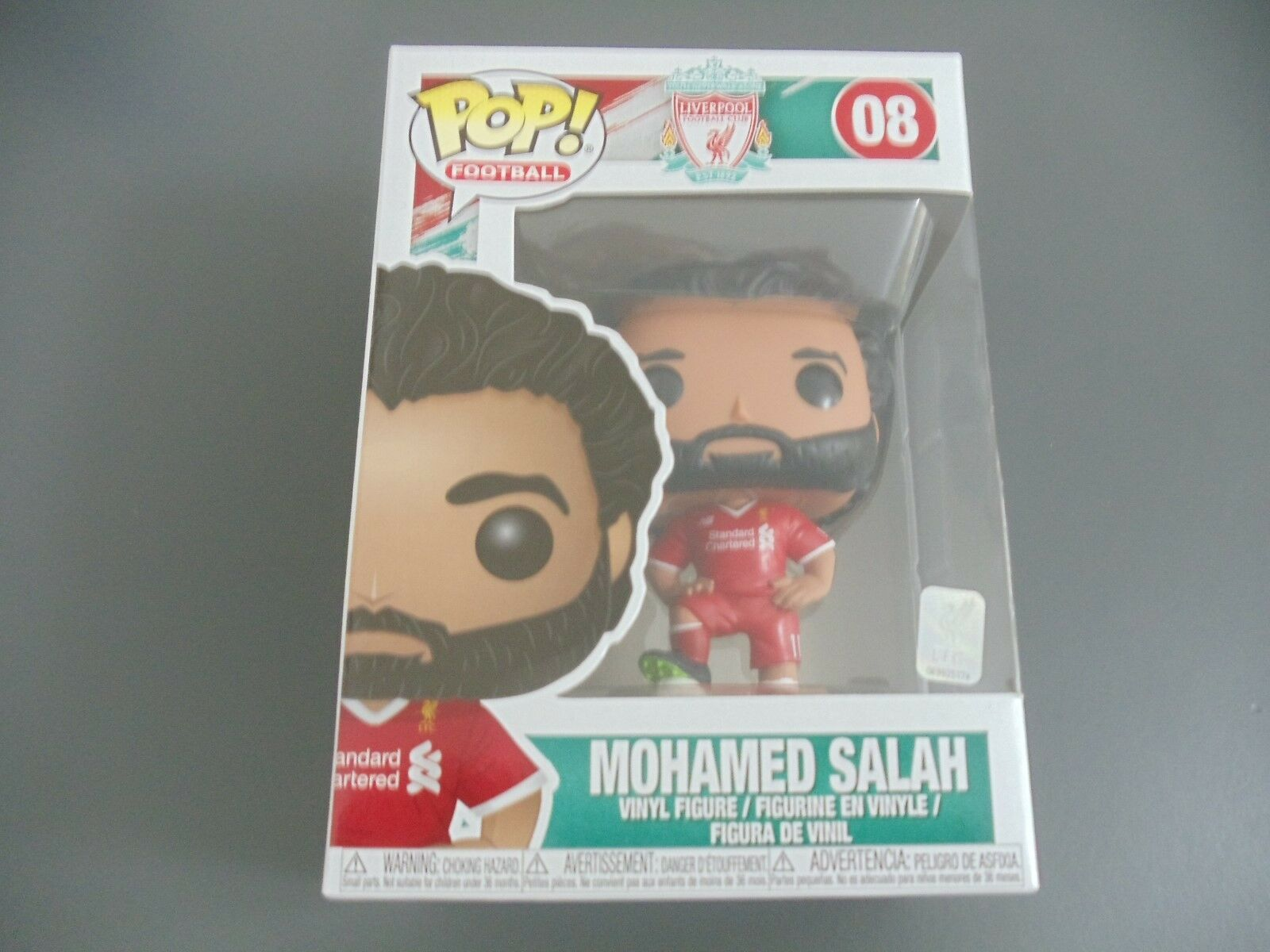 FUNKO POP MOHAMED SALAH LFC LIVERPOOL FOOTBALL CLUB (PRE-ORDER)