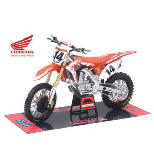 Nuovo-Ray-1-12-Cole-Seely-14-Hrc-Honda-Crf-450-R-Modello-Giocattolo-Supercross