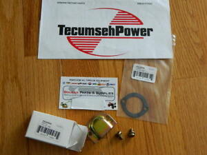 Details about TECUMSEH 2cycle carb baffle Kit Jiffy Ice Auger /power drill  570434 , 650229
