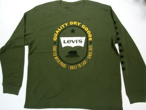 Levi-039-s-Thermal-Quality-Dry-Goods-Since-1873-Built-To-Last-Green-Levis-Strauss