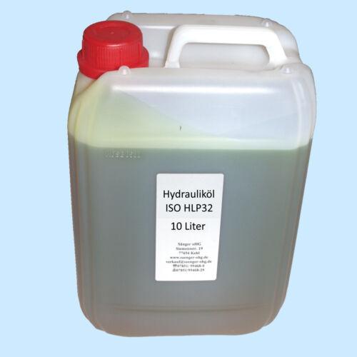 Huile hydraulique pour Pont leve élévateur-Huile 10 L ISO HLP 32