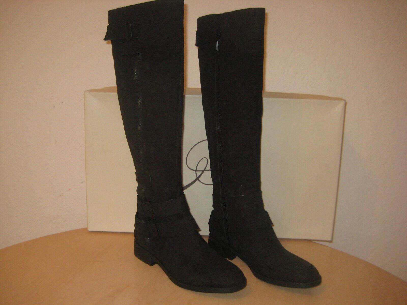Rachel Roy Größe 7.5 Leder Knee High Stiefel NEU Damenschuhe Schuhes