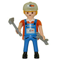 Playmobil - Series 5 Boy Themed Figure - Plumber - Loose