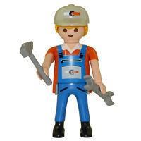 Playmobil - Series 5 Boy Themed Figure - Plumber - Loose