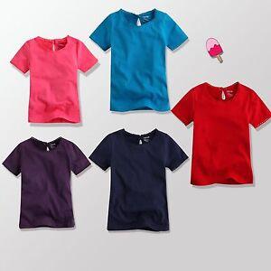 "NWT Vaenait Baby Toddler Girl's Top Short Sleeve T-Shirts "" Picot Lace T-Shirt """