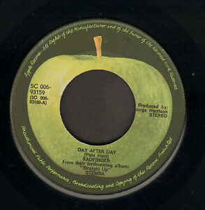 BADFINGER-Day-After-Day-1972-DUTCH-APPLE-VINYL-SINGLE-7-034