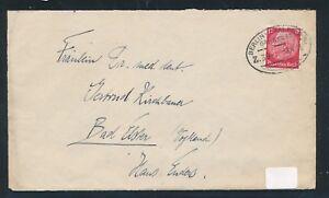 09561) Bahnpost Ovalstempel Berlin-saalfeld (s) Z.39, Lettre 1935-afficher Le Titre D'origine